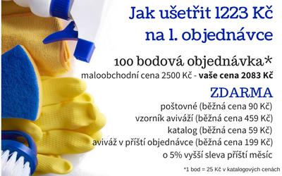 Eurona - jak ušetřit 1223 Kč na první objednávce